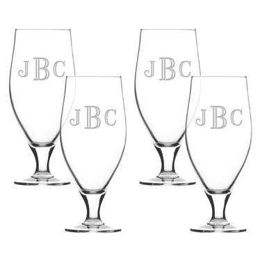 Glass Cervoise Set