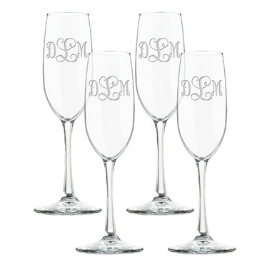 Glass Champage Flutes