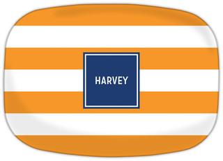 Awning Stripe Tangerine
