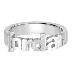 Name Ring Sterling