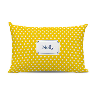 Polka Dots Sunflower Lumbar