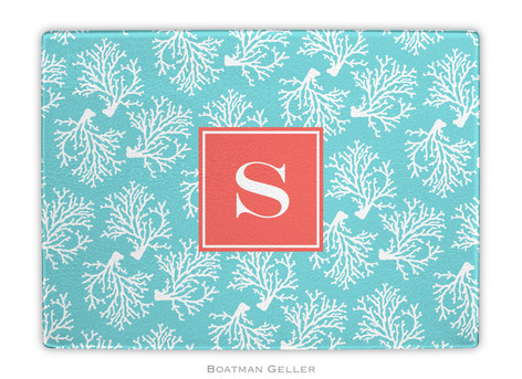 Coral Repeat Teal