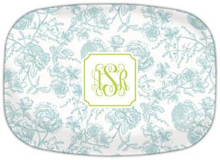 Floral Toile Slate