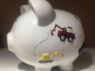 Transportation Piggy