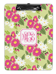 Floral Pink/Green