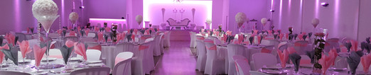 Le Crystal Lyon | Salle de Mariage | Deco Basic