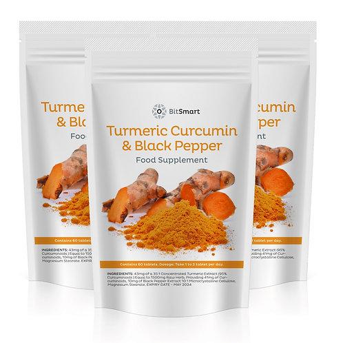 Turmeric & Black Pepper Tablets (60 Tablets)