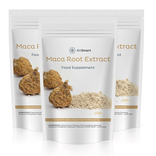 Maca Root Extract - Superfood (60 Tablets)