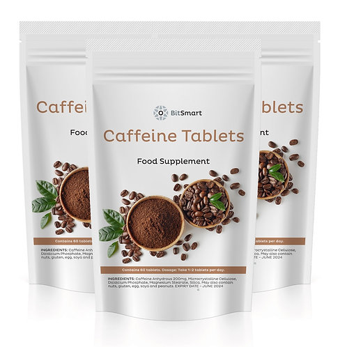 Caffeine - Weight Loss & Energy (60 Tablets)