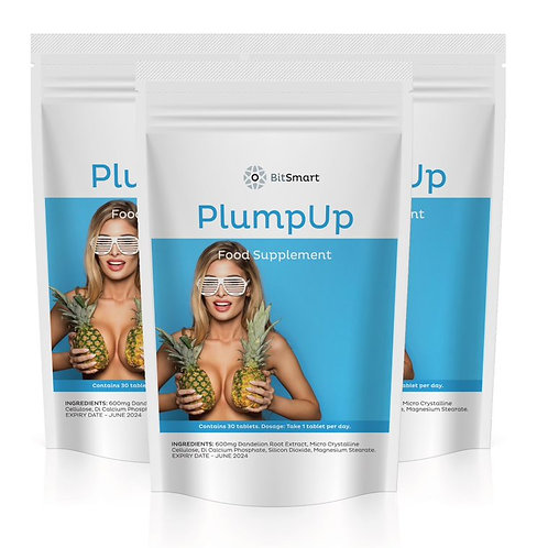 Plump Up - Breast Enhancement (30 Tablets)