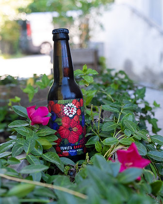 FRUITS ROUGES : Barbe Rouge & Citra 33cl