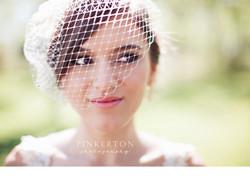 Bride with Birdcage