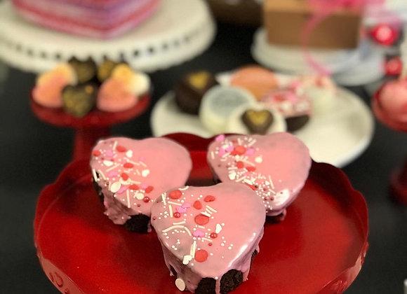 Be My Valentine - Brownie Cake