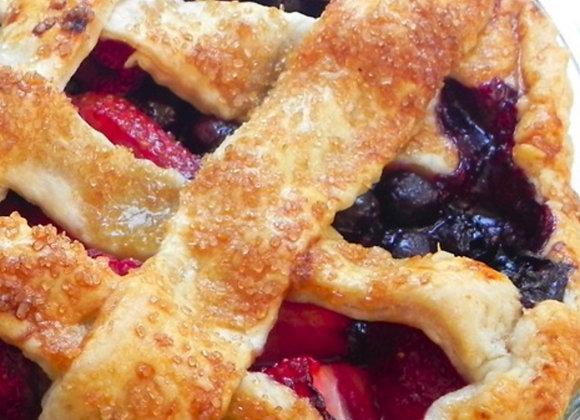 Mixed Berries Pie