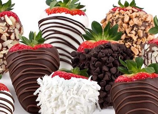 BOX 1/2 Dozen Chocolate Covered Strawberries