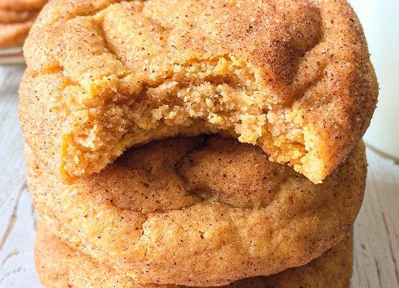 Pumpkin Snickerdoodle Cookies (Half Dozen)