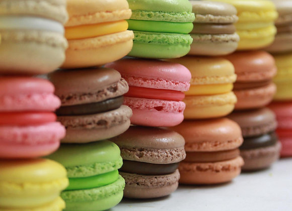 BOX 1/2 Dozen French Macarons