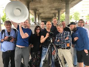 Deltagare fotokurs i Stockholm