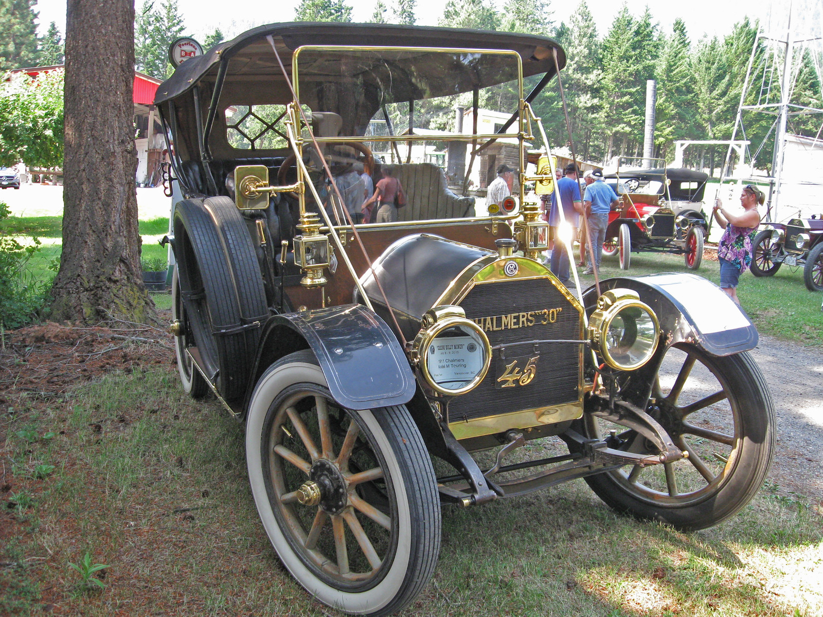 1910 Chalmers 30 touring