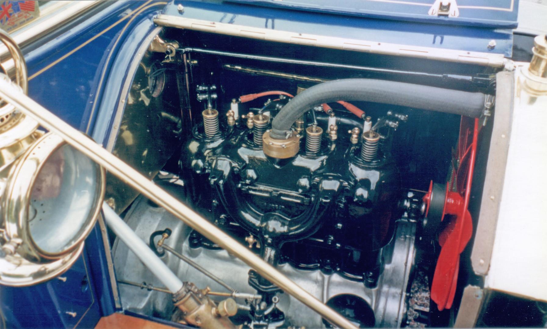 """Model 11 """"30"""" Engine detail"""