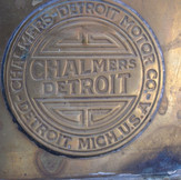 Early Chalmers Detroit Badge