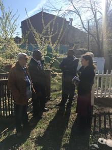 Congressman Dwight Evans tours the Overbrook Environmental Education Center
