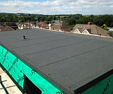 New felt flat roof installed in Bristol by G M Robinson Roofing Specialists Ltd