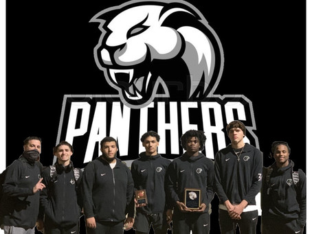 Brito Panthers - Varsity Basketball District Champs!