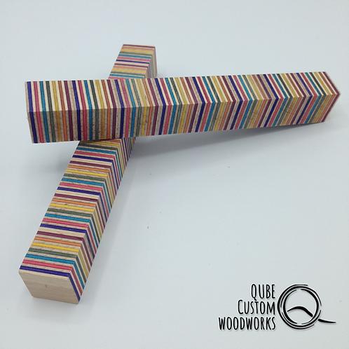 Pen Blank Rainbowwood - Horizontal