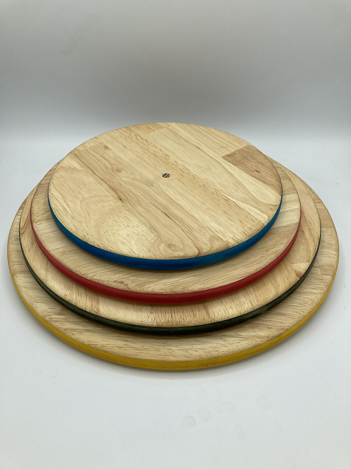 Colourful serving plate