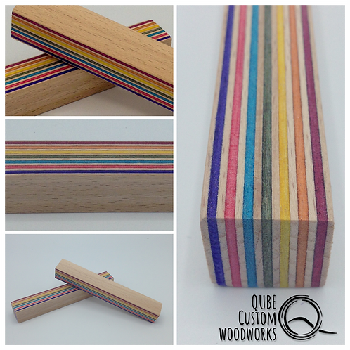 Pen Blank Rainbowwood