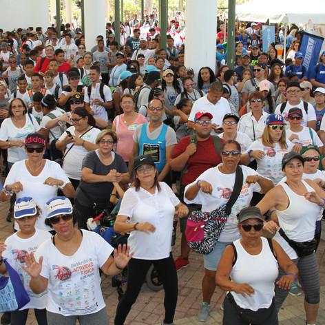 Participantes Marcha Nacional