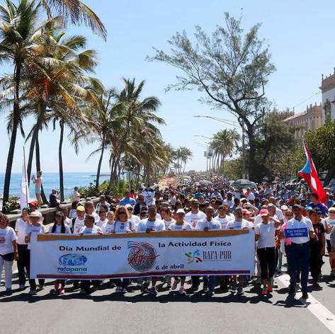 Marcha Día Mundial de Actividad Física 2016