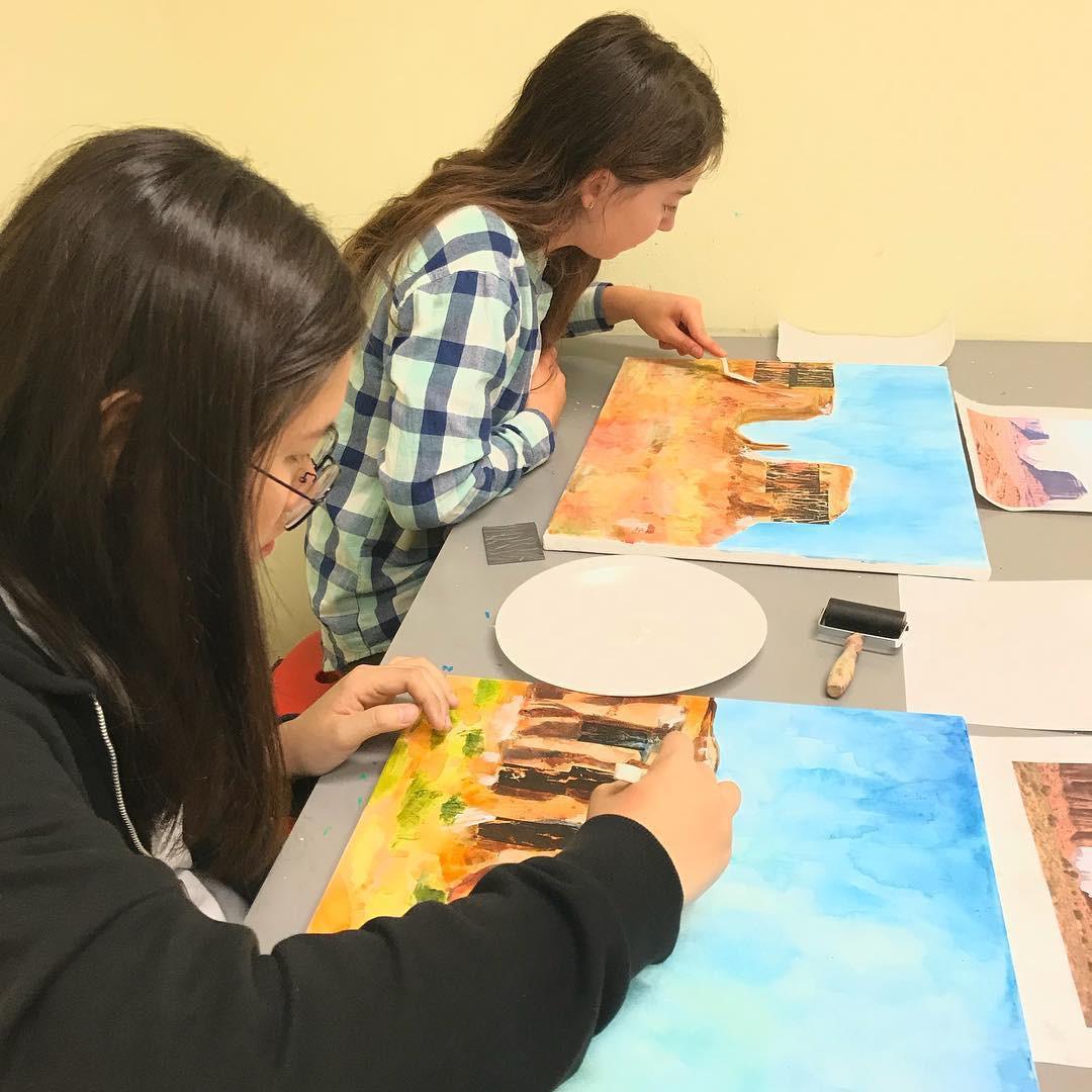 Teens Paint