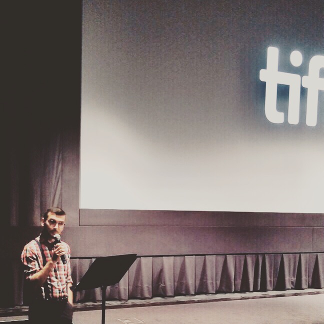 Pre-show talk @ TIFF for 'Maria by Callas'