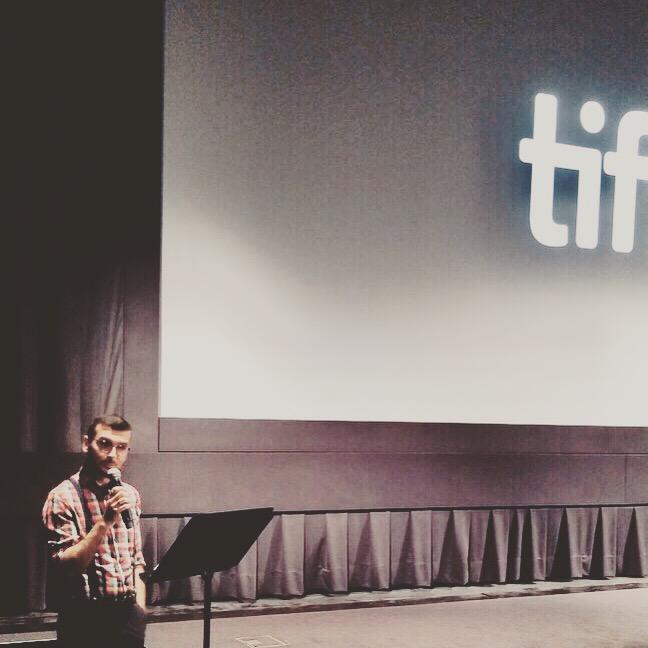 Pre-show talk @ TIFF for 'Maria by Callas'