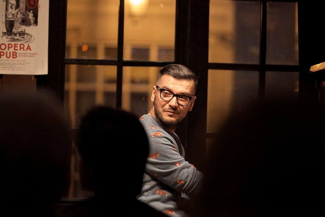 David Eliakis ATG Opera Pub Host