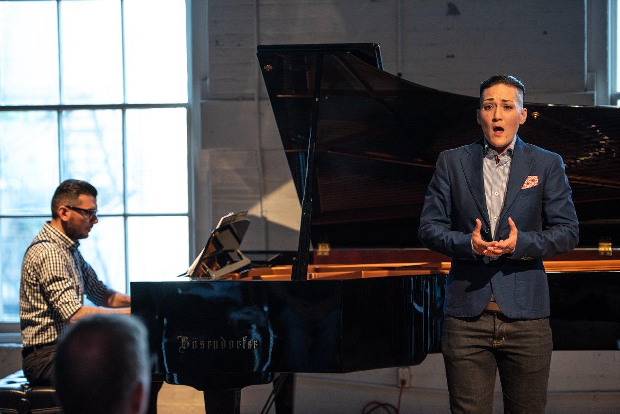 David Eliakis & Teiya Kasahara @ Queers Crash the Opera