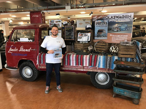 Author, Mark, selling his books at Volksworld Show 2019