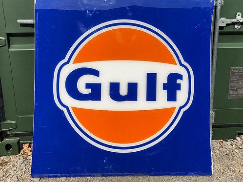Original Gulf Forecourt Sign