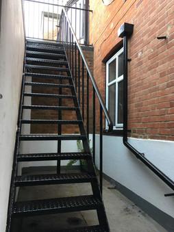 Refurbished staircase