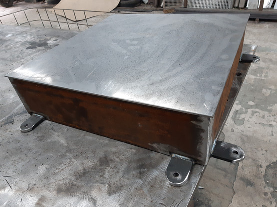 Steel Fuel tank cover