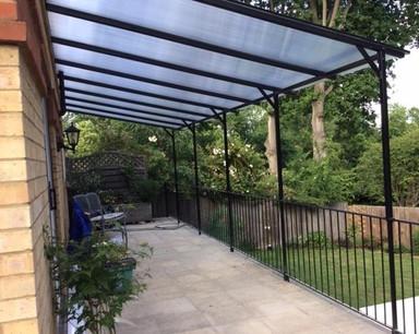 Metal Canopy Frame