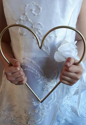Heart of gold Bridesmaid Idea