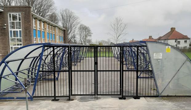 Ratton School Bike Shed Enclosure