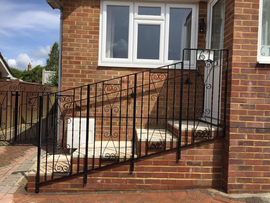 Decorative residential balustrade
