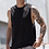 Thumbnail: Swiss Mountain High Neck Slash Armhole Vest