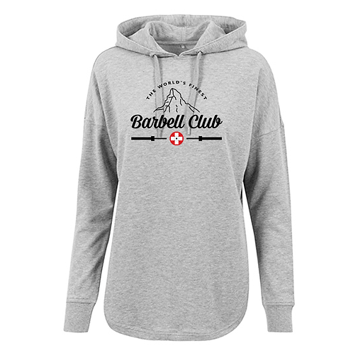 The finest barbell club Ladies` Oversized Hoody
