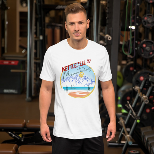 Kettlebell & Mountains Shirt Unisex  (Replica)