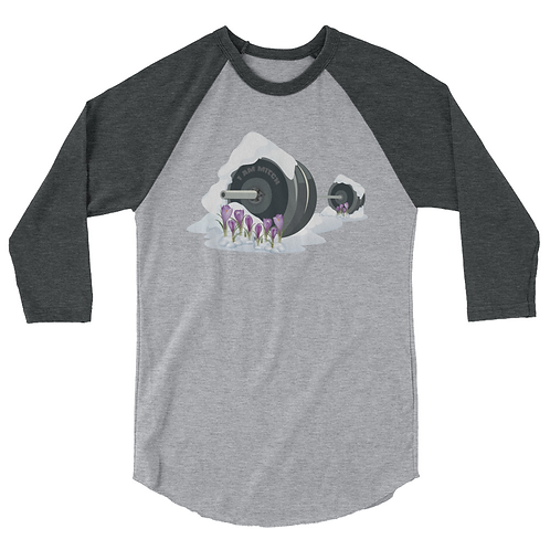 Lost Barbell Winter 3/4-Shirt